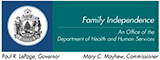 State of Maine Family Independence Logo