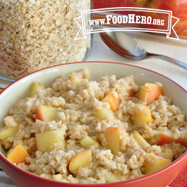 Recipe Image for Apple Spice Oatmeal