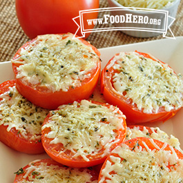 Recipe Image for Baked Tomatoes with Cheese