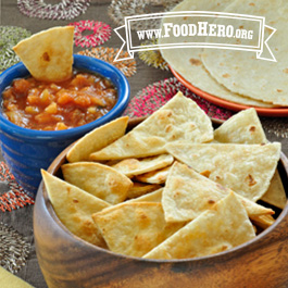 Recipe Image for Baked Tortilla Chips