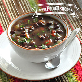 Recipe Image for Black Bean Mexican Soup