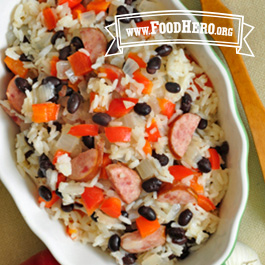 Recipe Image for Brazilian Black Beans and Sausage