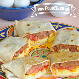 Recipe Image for Breakfast Burritos