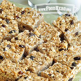 Recipe Image for Breakfast No-Bake Granola Bars
