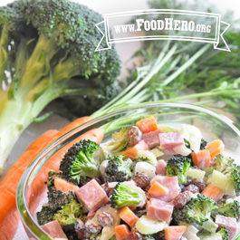 Recipe Image for Broccoli and Everything Salad