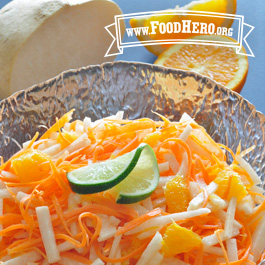 Recipe Image for Carrot, Jicama and Orange Salad