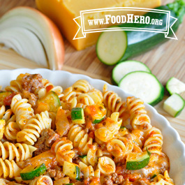 Recipe Image for Cheesy Beef Pasta
