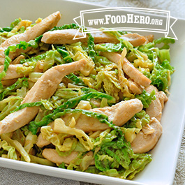 Recipe Image for Chicken Cabbage Stir-Fry