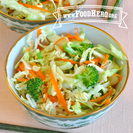 Recipe Image for Chinese Ramen Cabbage Salad