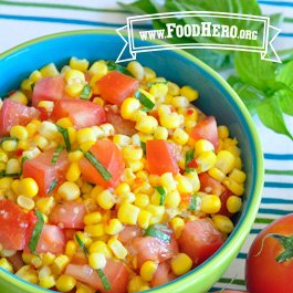 Recipe Image for Corn & Tomato Salad