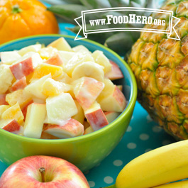 Recipe Image for Creamy Fruit Salad