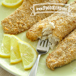 Recipe Image for Crispy Parmesan Baked Fish