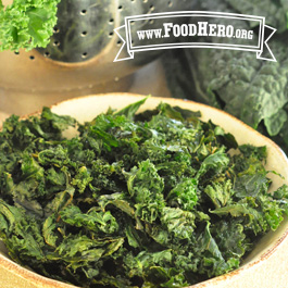 Recipe Image for Crunchy Baked Kale Chips