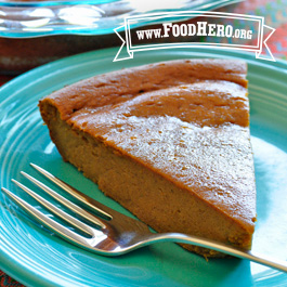 Recipe Image for Crustless Pumpkin Pie