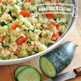 Recipe Image for Cucumber Salad with Tomatoes