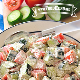 Recipe Image for Cucumber and Tomato Salad