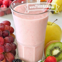 Recipe Image for Fruit Smoothie 2 (with milk)