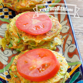 Recipe Image for Garden Vegetable Cakes