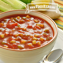 Recipe Image for Great Gazpacho Soup