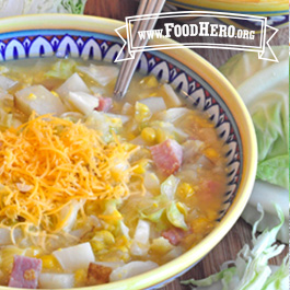 Recipe Image for Ham and Vegetable Chowder