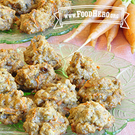 Recipe Image for Healthy Carrot Cake Cookies