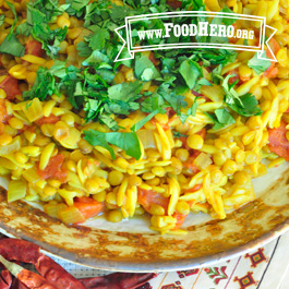 Recipe Image for Indian Lentils and Pasta