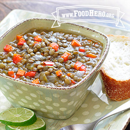 Recipe Image for Lentil Soup with Lime Juice