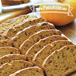 Recipe Image for Low-Fat Pumpkin Bread