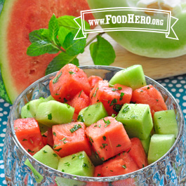 Recipe Image for Melon and Mint