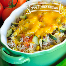 Recipe Image for Mexican Vegetable and Beef Skillet Meal