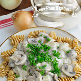 Recipe Image for Mushroom Stroganoff