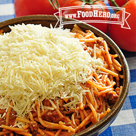 Recipe Image for One Pan Spaghetti