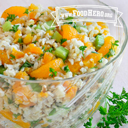 Recipe Image for Orange Rice Salad