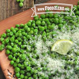 Recipe Image for Parmesan Peas