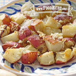 Recipe Image for Parmesan Roasted Potatoes