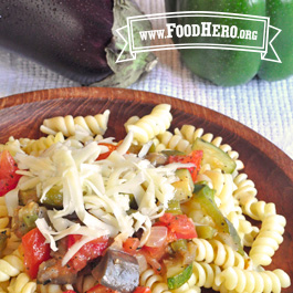 Recipe Image for Pasta Ratatouille