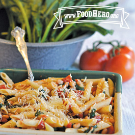 Recipe Image for Pasta with Greens and Beans