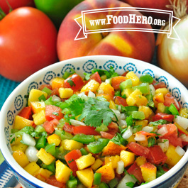 Recipe Image for Peach Salsa
