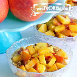 Recipe Image for Peach Sundae