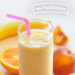Recipe Image for Peach Yogurt Smoothie