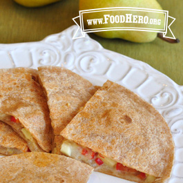 Recipe Image for Pear Quesadillas