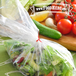 Recipe Image for Personal Salad in a Bag