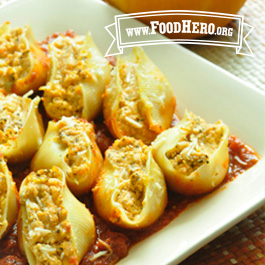 Recipe Image for Pumpkin Ricotta Stuffed Shells