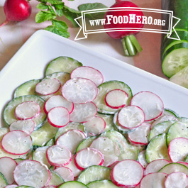 Recipe Image for Radish and Cucumber Salad