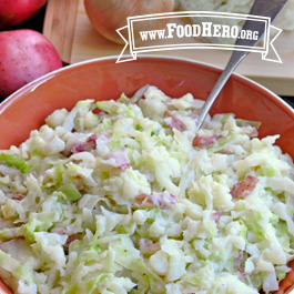 Recipe Image for Red Potato and Cabbage (Colcannon)