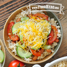 Recipe Image for Rice Bowl Southwestern Style