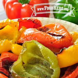 Recipe Image for Roasted Bell Peppers