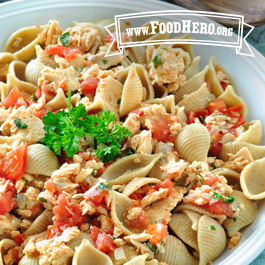 Recipe Image for Salmon Pasta Skillet