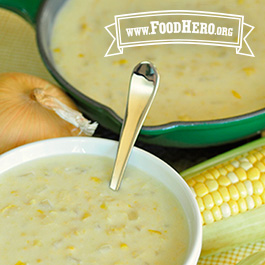 Recipe Image for Skillet Corn Chowder