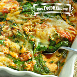 Recipe Image for Spinach & Chicken Italian
